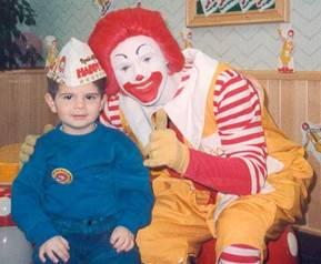 McDonald's birthday parties!